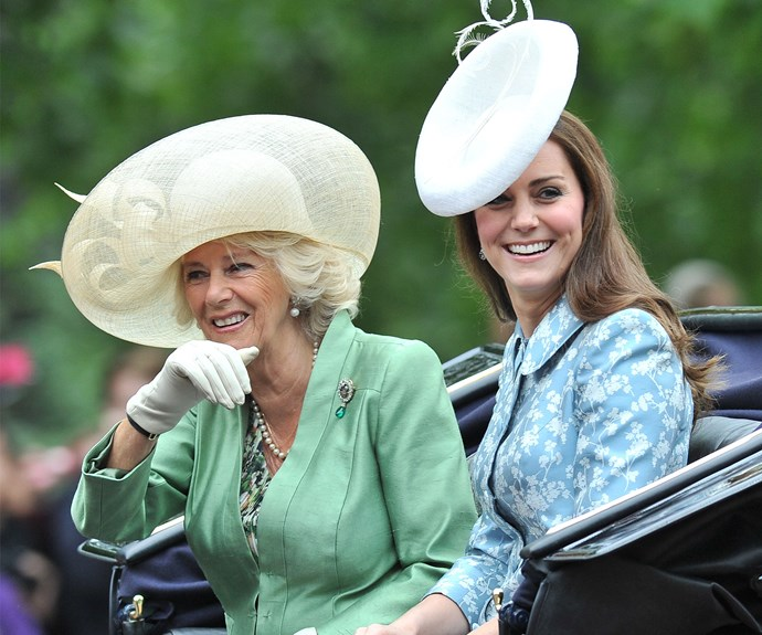 This is Duchess Catherine's first appearance since giving birth to Princess Charlotte Elizabeth Diana.