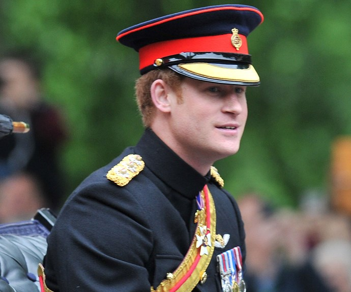 Prince Harry looks as charming as ever!