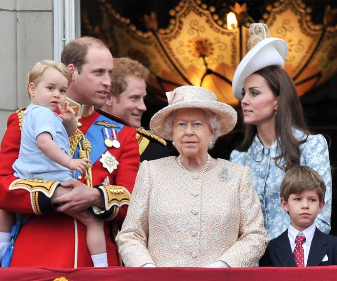 The royals look majestic as they soak in the Trooping the Colour.