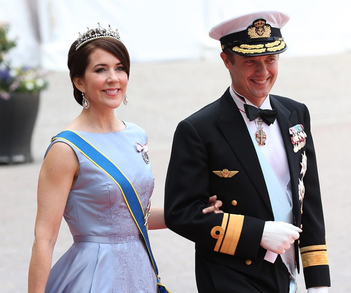 Guests, Crown Princess Mary and Prince Frederik of Denmark looked happier than ever.