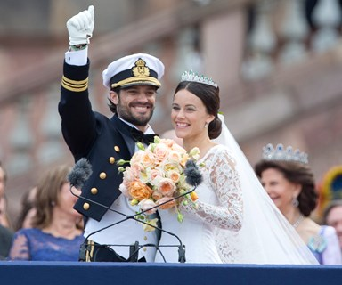 Sweden's Prince Carl Philip marries former glamour model Sofia Hellqvist