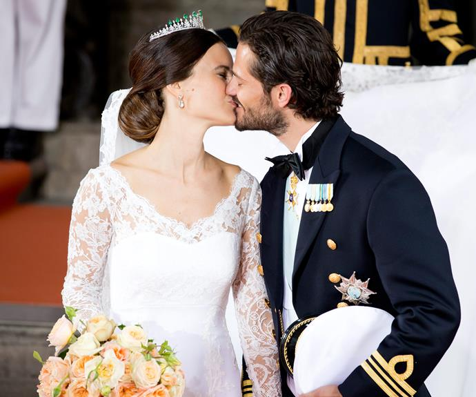 On June 13, 2015 the pair wed in Stockholm's Royal Palace chapel in a beautiful ceremony.