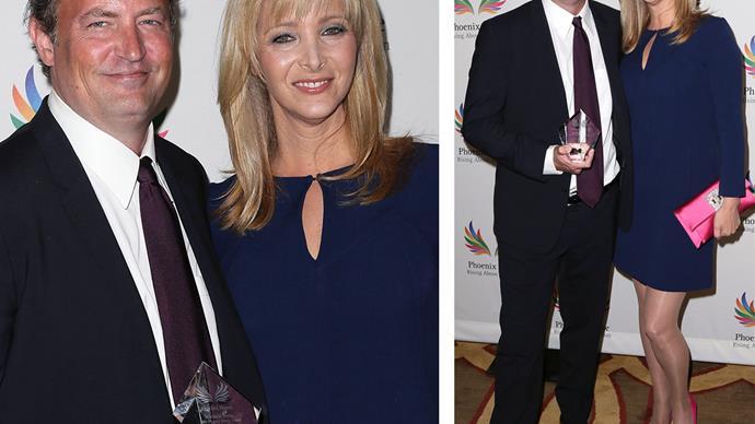 Lisa Kudrow and Matthew Perry