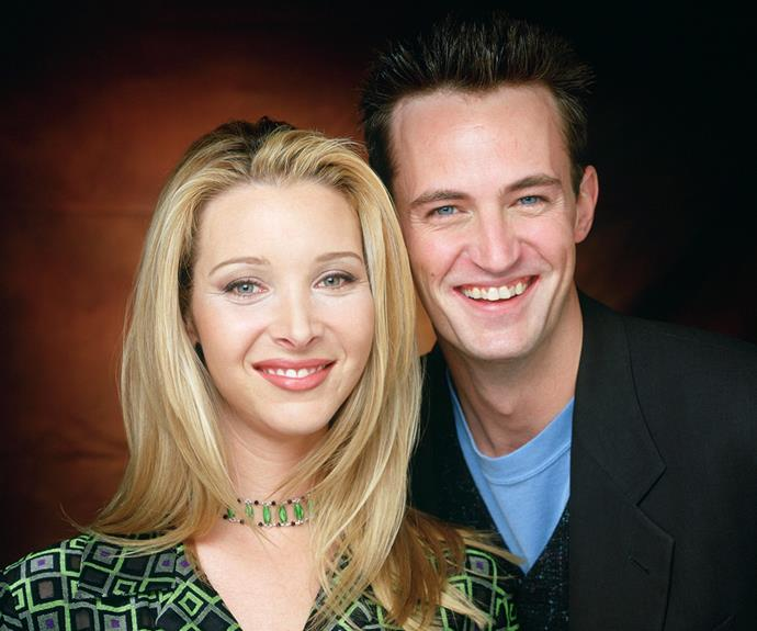 Back in their heyday, the pair rose to fame playing Phoebe Buffay and  Chandler Bing in the ensemble cast of *Friends*.