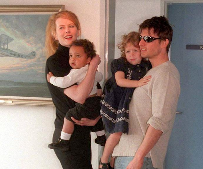 Nic is also a doting mum to two adopted children with Tom Cruise, son Connor and daughter Isabella.