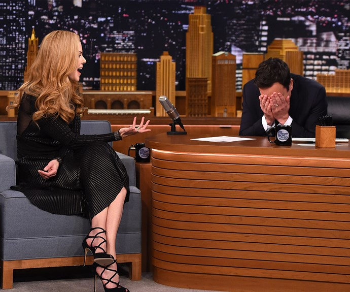 But it all could have panned out so differently! She once confessed to Jimmy Fallon that her friend tried to set her up with him when she was younger.
