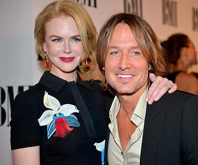 "Fast forward and the star is happily married to country crooner Keith Urban. ""Keith always says, 'We're lucky we met late in life.' The sadness of that is that we can't have six kids together, but the greatness of that is we've gone A-Z with all that other stuff, so now we're totally present for this."""