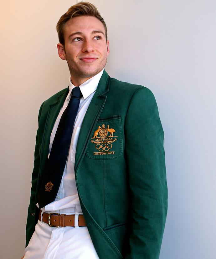Diving pro Matthew Mitcham is on board