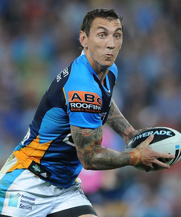Mat Rogers retired from rugby in 2010