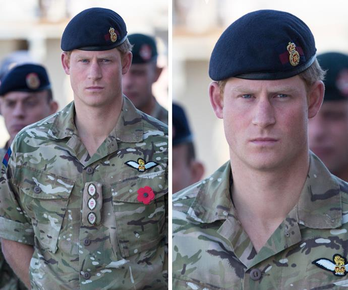 Prince Harry remembers the lives lost in Afghanistan last year as the mission comes to an end.
