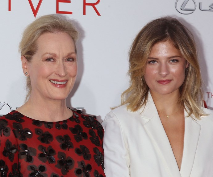 While Mamie and Grace have followed Meryl into the acting business, daughter Louisa is a model who has worked for Dior and appeared in *Vanity Fair* and *Glamour*.
