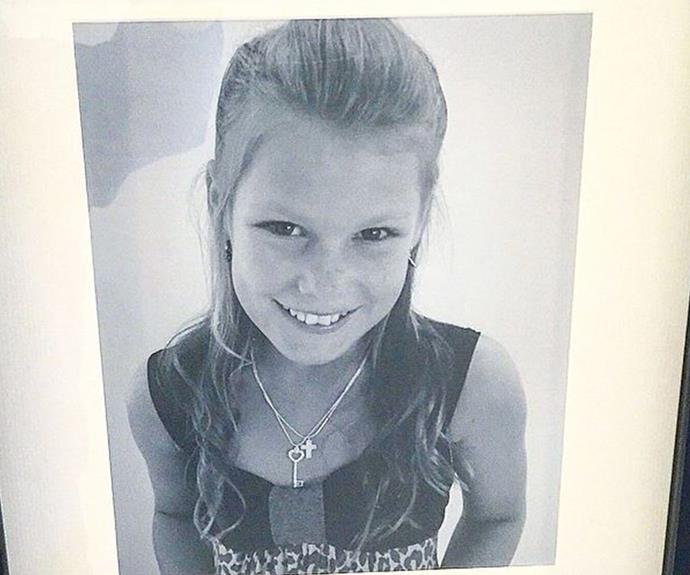 """My cute little daughter @brookewarne is all grown up & has her 18th party tonight, can't believe it, Wow !!!,"" Shane wrote alongside this retro snap of his daughter."