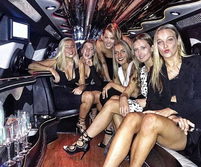 What's an 18th without a limo?