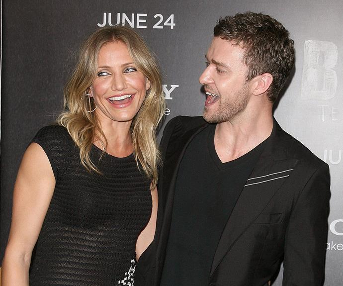 Their love wasn't meant to be but that didn't stop Cameron Diaz and Justin Timberlake from starring in *Bad Teacher* together.