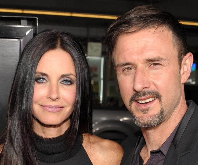"""We just really dealt with it in a very sweet and honorable way. I don't know. We just love each other. Even though the relationship didn't work out, we wanted to still remain friends,"" David Arquette explains of his ex-wife Courtney Cox."