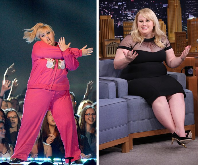 Rebel Wilson has left her trackie dack days and now is looking healthy and fabulous and it is all thanks to her love diet - which you can read about it in this week's issue of *Woman's Day*!