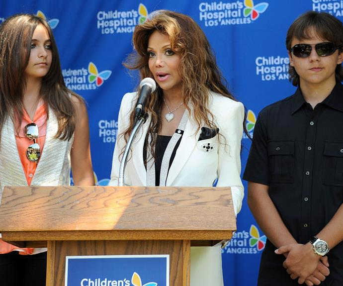 In an effort to continue Michael's legacy, the Jackson's donated some of his artwork to a local children's hospital.