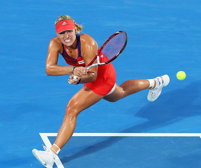 "German dynamo Angelique Kerber is a force to be reckoned with! ""Other players by now have a bit more respect for me. But I don't put the pressure on myself. From the outside, I don't care who calls me a favourite,"" she tells of her blossoming career."