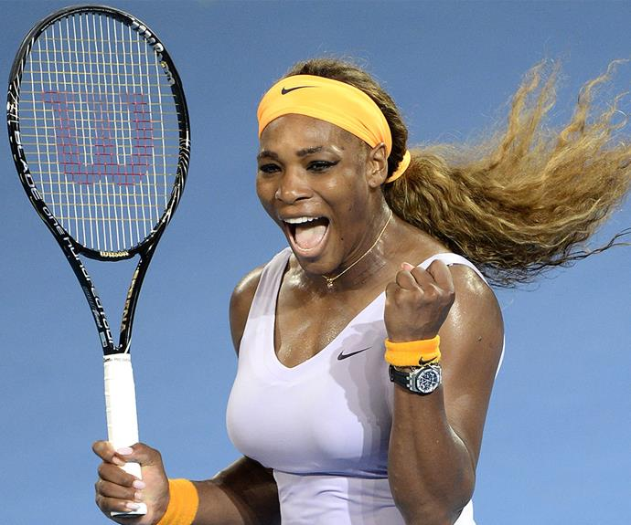 """When you're young and you first win, it's like, great. You want to go to all these different countries, winning all these Grand Slams, it's an amazing feeling. But now I still feel that way. I feel just as excited, not more excited, but I feel just as excited,"" 33-year-old pro Serena Williams says."