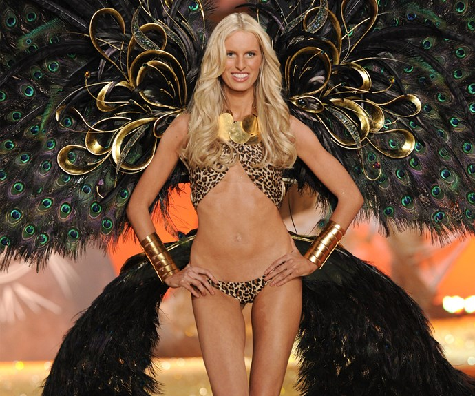Karolina Kurkova was an Angel for 10 years. The blonde bombshell finally hung up her wings in 2010.