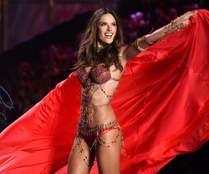 Also returning for another eye-popping strut is mum-of-two Alessandra Ambrosio, who will celebrate her 16th year in wings in Paris.