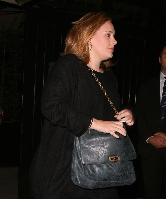 Low-key Adele was spotted having an intimate dinner with Beckhams