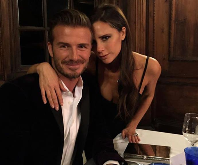 """If you love someone, you want to treat them, surprise them, remind them how you feel, whether that means a weekend away somewhere, or a bowl of fruit in the morning laid out in the shape of a heart. I know Victoria thinks I'm romantic like that,"" Becks confessed in his autobiography of spoiling his Mrs."