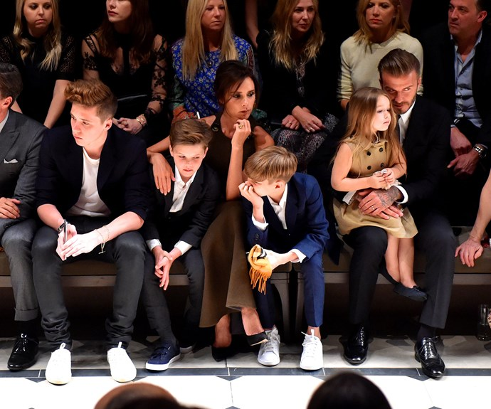The Beckham brood are the best behaved children in Tinseltown, a true testament to the star's parenting.