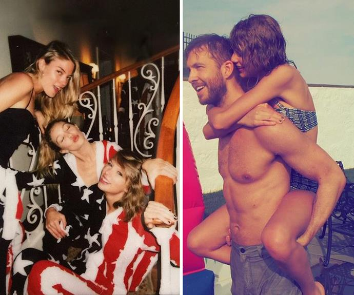 Taylor Swift and her boyfriend Calvin Harris lead the pack with the most epic Fourth of July fiesta.