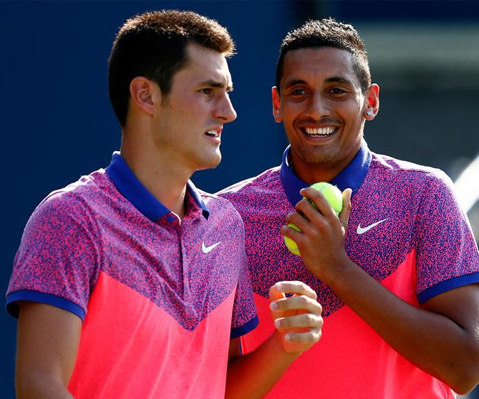 "Bernard Tomic and fellow Australian tennis player Nick Kyrgios faced Dawn's wrath after their on-court behavior was deemed, ""absolutely disgusting,"" by the Olympic icon."
