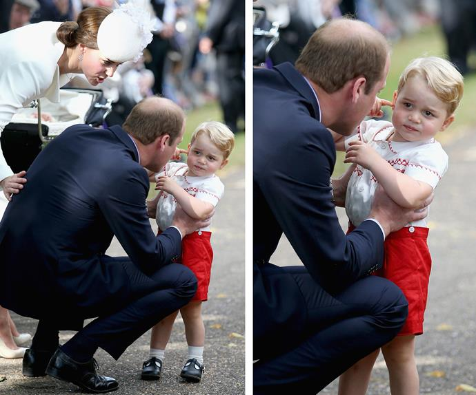 "Prince William pulls his ""rascal"" into line."