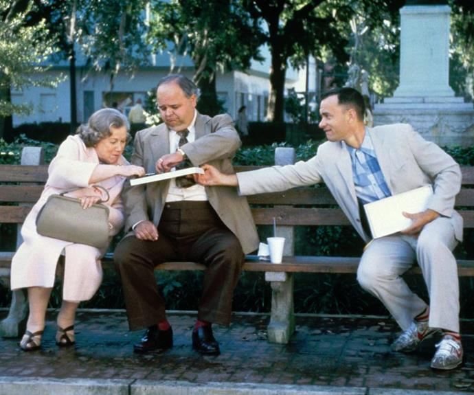 "Forrest Gump (1994): ""Life is like a box of chocolates, you never know what you gonna get!"""