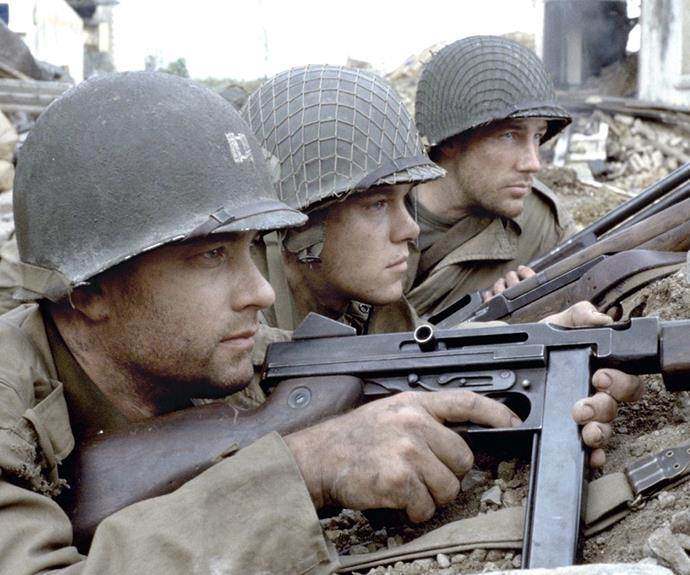 "Saving Private Ryan (1998) : When he tells Private Ryan, ""James, earn this... earn it."""