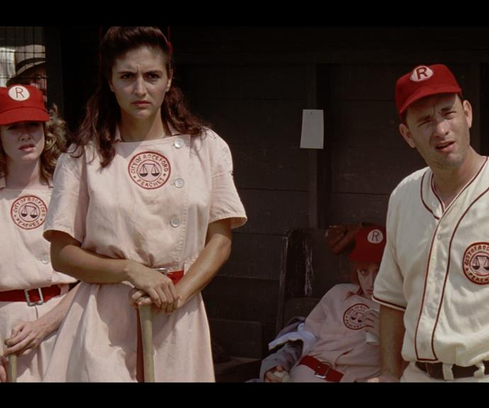"A League of Their Own (1992) : ""There's no crying in baseball!"""
