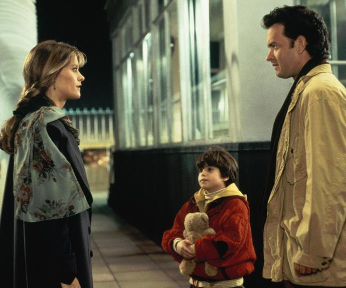 "Sleepless In Seattle (1993) : ""When I met my wife, it was so clear. I just knew. I knew it the very first time I touched her. It was like coming home, only to no home I'd ever known. I was just taking her hand to help her out of a cab. And it was like... magic."""