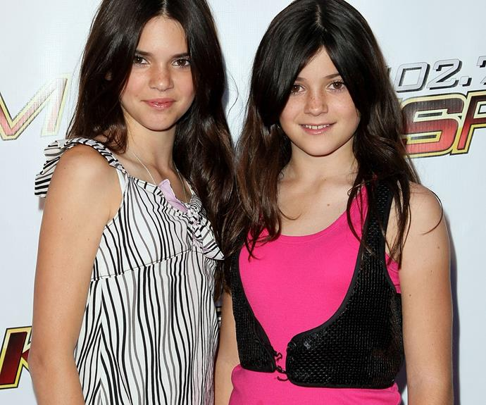 We can't believe that when the show began back in 2007 and is now up to season 10! This is what Kylie and Kendall looked like when it all started.