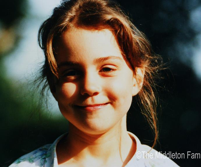 We cannot wait to see Princess Charlotte grow before us. We imagine she'll take after her beautiful mother, Catherine, pictured here at age five.