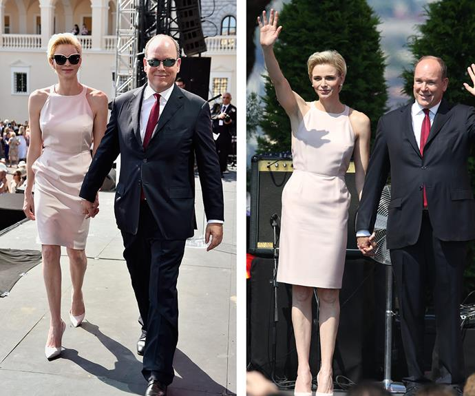 Prince Albert of Monaco celebrates 10 years as the reigning monarch of Monaco in style!