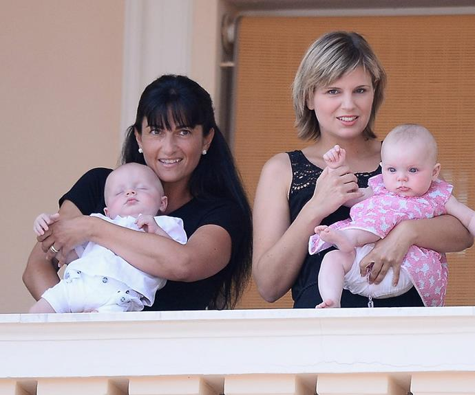 The last time the public saw the twins [was at their christening in May.](http://www.womansday.com.au/royals/international-royals/princess-charlene-of-monaco-is-radiant-at-her-twins-christening-12506)
