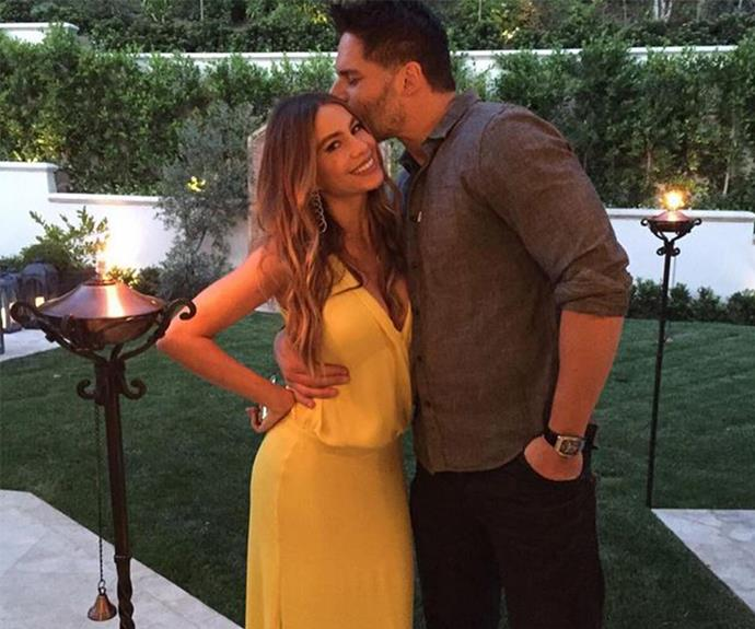 Sofia Vergara was all smiles as she celebrated her 43rd birthday with family, loved ones and her very attractive hubby-to-be Joe Manganiello.