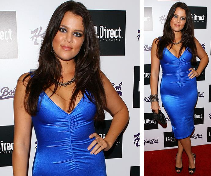 "Khloe, pictured in 2007, attributes [cutting dairy from her diet](http://www.usmagazine.com/celebrity-news/news/khloe-kardashian-says-nutritionist-called-her-body-a-honda-w456248|target=""_blank""