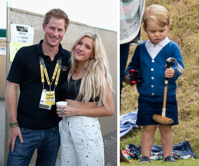 Ellie Goulding was one of the performers at the inaugural Invictus games... but we must admit we'd love to see young Prince George in Orlando with his uncle.