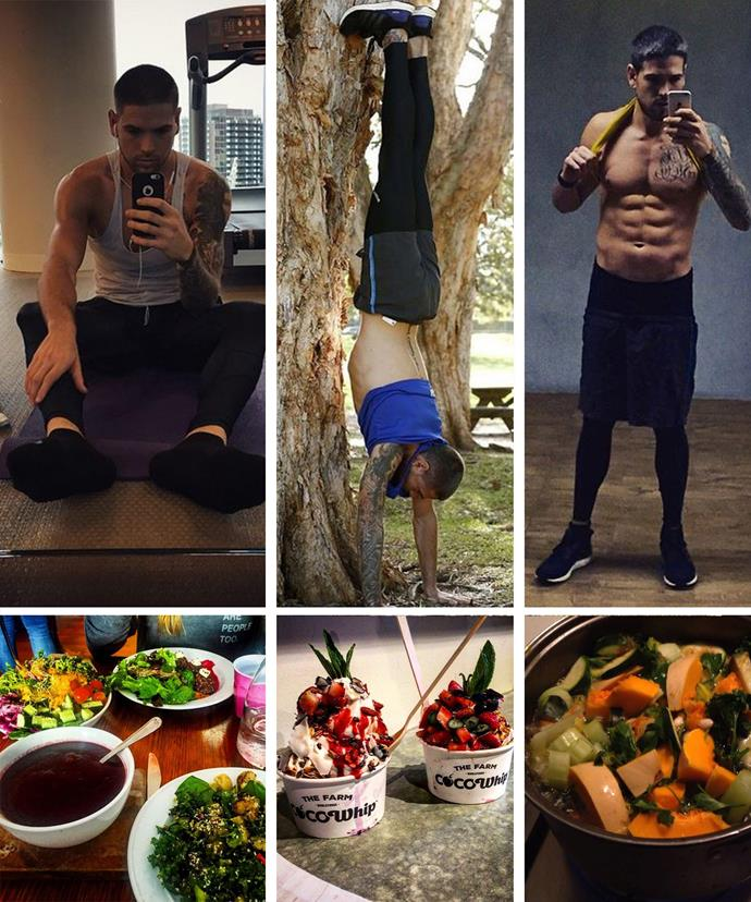 Didier credits his new outlook on life to clean eating, exercising and leading a healthier lifestyle.
