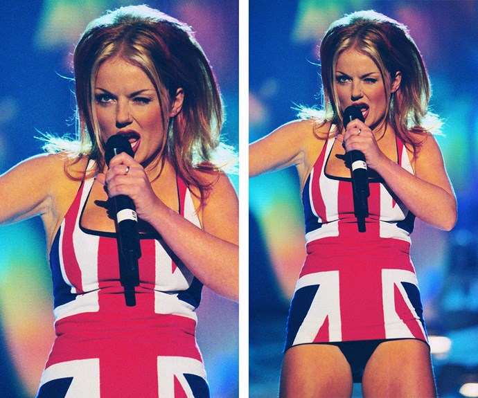 While Geri didn't win that particular sartorial show-down, she'll always have her iconic Union Jack dress that she wore to the 1997 Brit Awards.