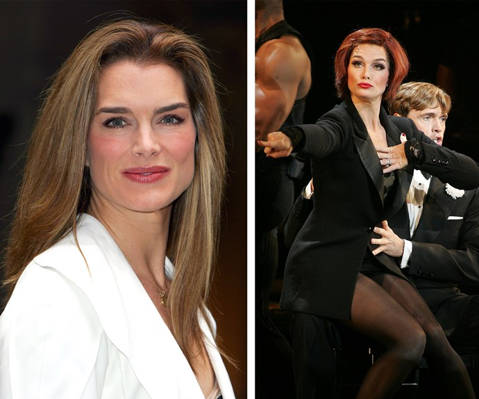 "The multi-talented Brooke Shields was breathtaking as Roxie in 2004. Nearly a decade later in 2013, Brooke debuted as the musical's director. ""It's exhausting! You're a therapist, you're a politician… You have to be aware that that person is starting to freak out, I gotta talk them off a cliff, and you've got to make sure they have confidence because this is not an easy thing for any of them to do."""