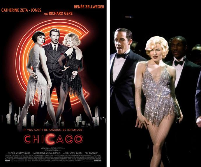 "Roxie Hart has been brought to life on the stage by many, but most famously was the silver screen portrayal by Renee Zellweger in 2002. Her seductive performance earned a whole lotta jazz hands, award nominations and even an Oscar nod! At the time when asked to do the role, the actress admitted she was scared but she decided to take a risk. ""I must have been a fool, but I bought into it!"""