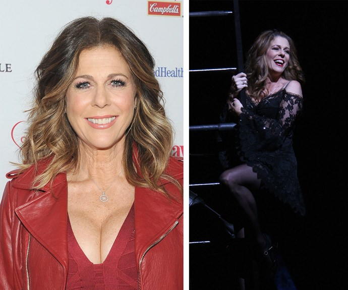 "Rita Wilson played the role in 2006. ""I'm a big believer in being scared to death because you can really grow when you're put in a circumstance where you're deeply challenged. I felt that way when I did Chicago on Broadway."""