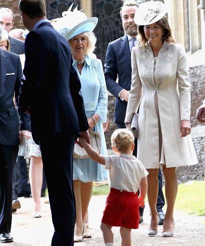 Carole wants to be involved with her royal family in every way possible and often looks after the kids.