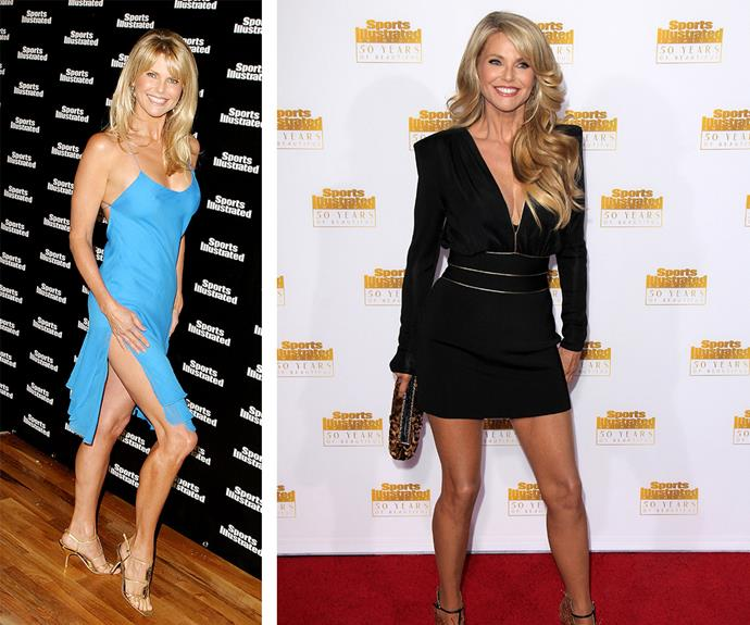 "The star, pictured in 2004 on the left and 2015 on the right, swears by a vegan diet but allows the odd indulgence. ""I don't eat fish apart from the occasional oyster."""