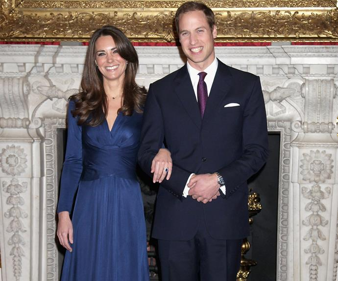 """""""Obviously she's not going to be around to share any of the fun and excitement of it all – this was my way of keeping her close to it all,"""" William remarked after gifting his then-fiancee Catherine Middleton with the same incredible 12-carat deep blue sapphire engagement ring that Prince Charles presented Diana back in 1981."""